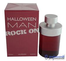 Halloween Men Rock On By J. Del Pozo 4.2 oz/ 125 ml Edt Spray For Men New In Box