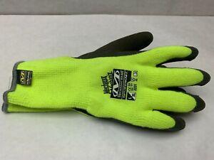 Mechanix Wear Thermal SpeedKnit High Vis Yellow Work Gloves Large/XL