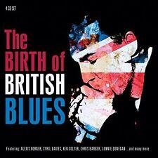 BIRTH OF BRITISH BLUES 4 CD NEU
