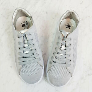 JUST JEANS | Womens Silver Grey Sneakers Shoes [ Size 7 ]