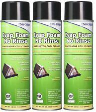 Nu-Calgon 4171-75 Evap Foam No Rinse Evaporator Coil Cleaner, 18 oz. (3 Pack)