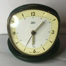 More details for 1950's emes travel alarm clock cased working order