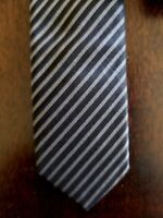 DIOR Ultra Slim Made in Italy 100% Silk TIE - New without Tag