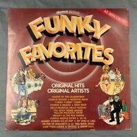 Funky Favorites Original Hits Original Artists Ronco Presents 1977 R-2150