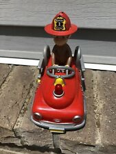 Curious George With Fire Truck
