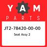JT2-78420-00-00 Yamaha Seat assy 2 JT2784200000, New Genuine OEM Part