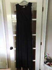 A pea in the Pod Maternity Black Maxi Dress XS