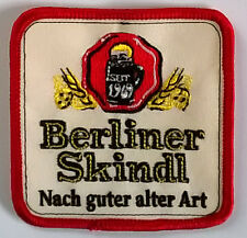 Berliner Skindl patch gestickter Aufnäher