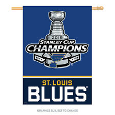 2019 Stanley Cup Champions 28x40 Banner St. Louis Blues