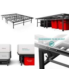 Elite SmartBase Mattress Foundation Bed Platform Frame Noise Free Queen 14 Inch
