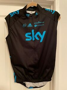 ADIDAS TEAM SKY CYCLING GILET_VEST_RARE!_SIZE L_MSRP $135
