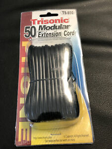 Trisonic TS-850 50' Modular Extension Cord for Phone