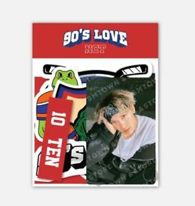 NCT SMTOWN OFFICIAL GOODS 90's Love LUGGAGE STICKER + PHOTO CARD SET SEALED