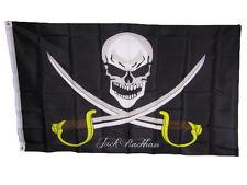 3x5 Jolly Roger Pirate Calico Jack Rackham 150D Polyester Flag 3'x5' Banner
