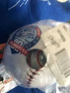 Los Angeles Dodgers 60th Anniversry Baseball & Pin Set