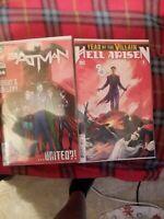 BATMAN #89 & HELL ARISEN #3 (2ND PRINT) PUNCHLINE | Unread 🔥
