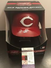 JSA Nick Senzel Signed F/S Full Size Batting Helmet COA Cincinnati Reds
