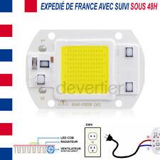 LED COB HIGH POWER 30W 2400 LUMENS BLANC FROID ALIM DIRECT 220V DRIVER INTEGRE