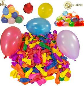 100 Water Balloons Bombs Kids Summer Outdoor Toys Fun Kids Party Bag Fillers