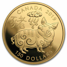 2019 Canada Gold $150 Year of the Pig Proof - SKU#172263