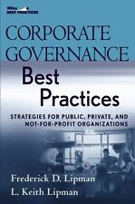 Corporate Governance Best Practices: Strategies for Public, Private, and Not-for