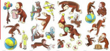 CURIOUS GEORGE wall stickers 22 decals Monkey Balloons Kite scrapbook story book