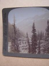 Stereo View Card - Canada Selkirk Mountains