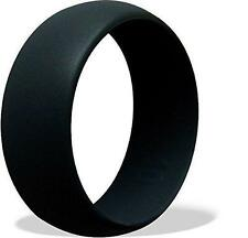 Flexible Rubber Silicone Wedding Ring Band  Men Women Hypoallergenic New