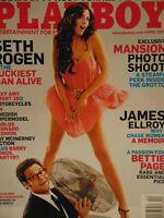 Playboy April 2009 | Hope Dworaczyk Bettie Page   #2175+