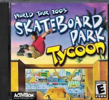 SkateBoard Tycoon World Tour 2003 PC CD-ROM Rated E Activision