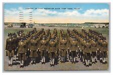 WW2 TANK DESTROYER WACS, CAMP HOOD 1945 TO KARL NIELSEN, BENTON HARBOR, MICHIGAN