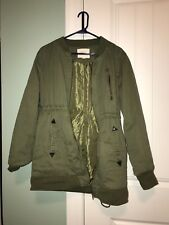 Thread And Supply Military Army Jacket Olive Green Size Medium