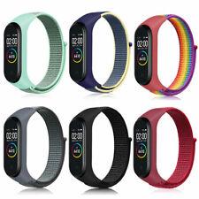 For Xiaomi Mi Band 3/4/5/6 Smart Watch Straps Multicolor Nylon Sports Wristband