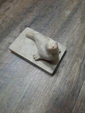 Vintage Pearlite Marblecraft Seal sea lion figurine base marble type