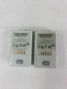OEM-- MICROSOFT Brand XBox 360 Rechargeable —TWO Battery Packs! ---FREE SHIP!