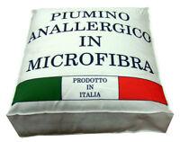 PIUMINO MICROFIBRA MONVISO 300 GR/MQ MARTINELLI MADE IN ITALY 3 MISURE LETTO