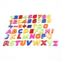 Enseñanza Imanes De Nevera Alfabeto Conjunto colorida Magnético Números Y Letras