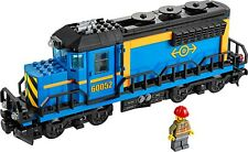 Lego City CARGO FREIGHT TRAIN WITH MOTOR - Split from 60052 **BRAND NEW**