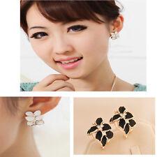 Women's New High-Grade Gardenia Ear Clip Earrings Edition Stud Earrings Earrings