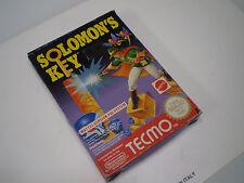 Solomon's Key Nintendo NES 8 bit PAL A gioco completo ottime condizioni