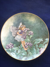 "Villeroy & Boch/Heinrich Flower Fairies Collection ""The Heliotrope Fairy "" plate"