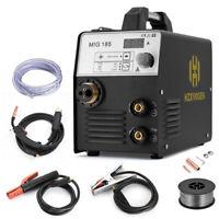 HZXVOGEN MIG Welder 220V ARC/LIFT TIG gas gasless IGBT Welder Welding Machine