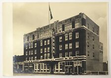 Old Vintage Real Photo Postcard RPPC Corona Hotel in Edmonton Canada Unposted
