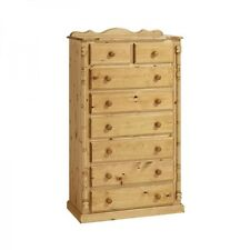 PINE FURNITURE SANDRINGHAM 6+2 CHEST OF DRAWERS NO ASSEMBLY REQUIRED!!!