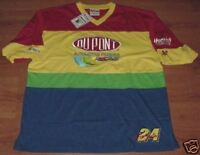 Jeff Gordon #24 Dupont Trackside Jersey Shirt XL New