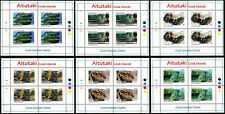 Aitutaki  Marine  Research Center 2011 Clams Series Mini-Sheets