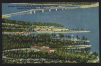 Airview of Kentucky Lake State Park postcard