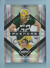 CLAY MATTHEWS 2009 LIMITED PHENOMS RC SIGNATURE AUTOGRAPH AUTO /299 PACKERS