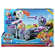 Paw Patrol Skye Ride N Rescue Transforming Helicopter Vehicle Set - Age 3+