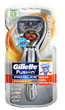 New Gillette Fusion Proglide Silver Touch  Flexball Power 1 Razor 1 Cartridge